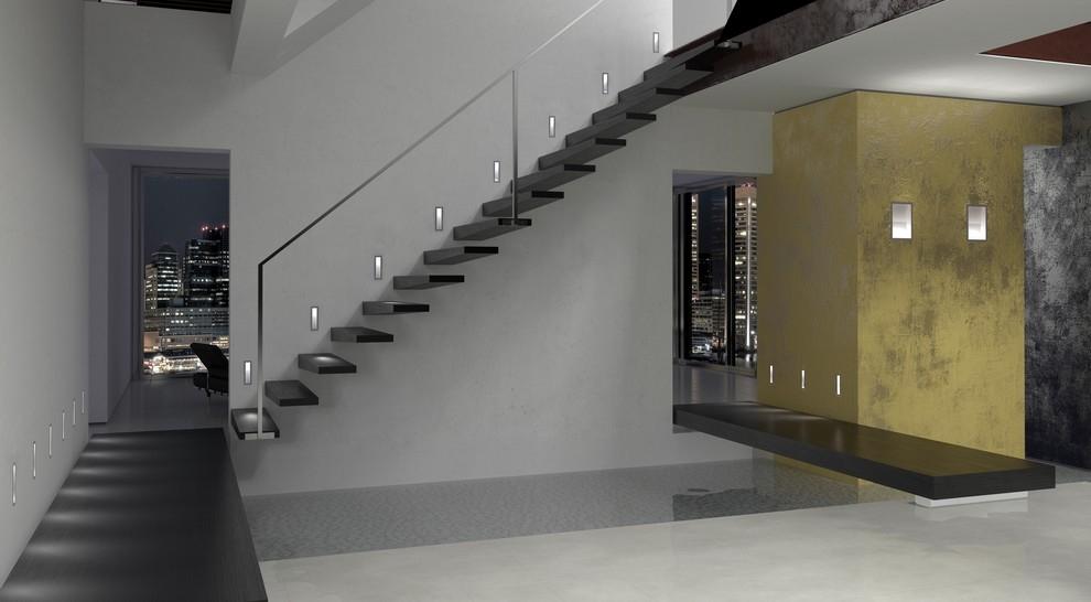 Lampade per interni ambientazioni - Illuminazione scale interne led ...