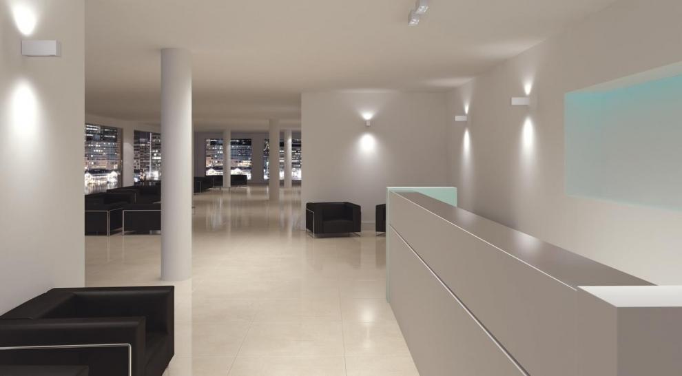 Lampade led l tech per l illuminazione dal design semplice e minimal