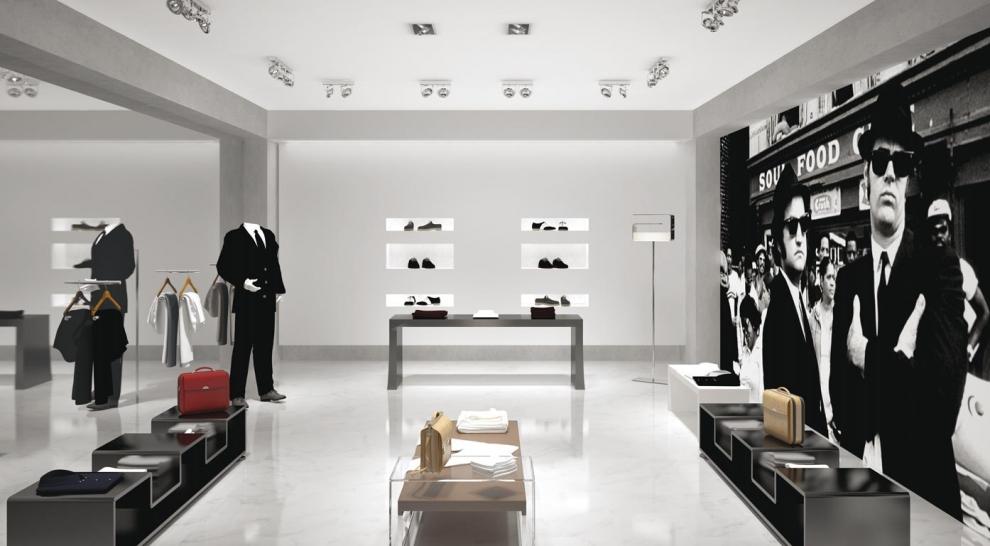 Lampade per negozi ambientazioni - Esempi di illuminazione a led per interni ...